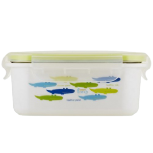 INS. STAINLESS LUNCHBOX ALLIGATOR GREEN
