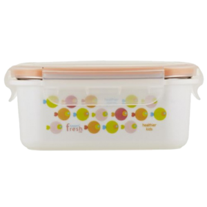 INS. STAINLESS LUNCHBOX FISH ORANGE