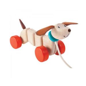 Plan Toys - χαρούμενο σκυλάκι