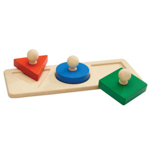 Plan Toys - παζλ με σχήματα