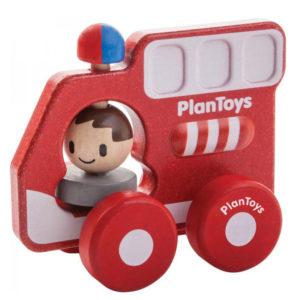 Plan Toys - πυροσβεστικό όχημα