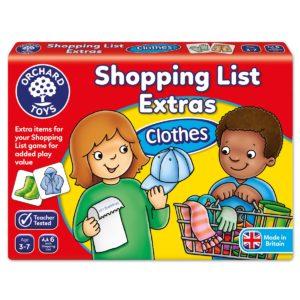 "Orchard Toys ""Λίστα για ψώνια-Έξτρα Ρούχα""- (Shopping List Extras Clothes)"