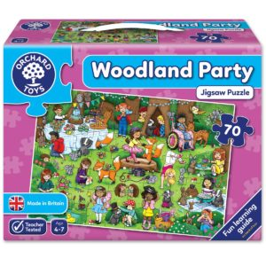 "Orchard Toys ""Πάρτυ στο δάσος"" (Woodland Party) Jigsaw Puzzle"
