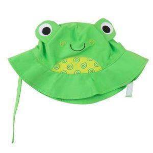 ZOOCCHINI - Αντηλιακό Καπέλο UPF50+ Βατραχάκι